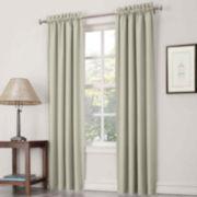 Sun Zero™ Heath Room-Darkening Rod-Pocket Curtain Panel