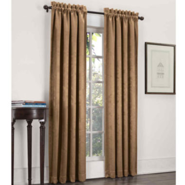 jcpenney.com | Sun Zero™ Cassara Rod-Pocket Blackout Curtain Panel