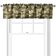 Cadet Camo Tailored Valance