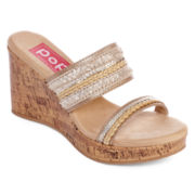Pop Stella Slide Wedge Sandals