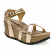 Muk Luks® Lilith Wedge Sandals