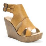 Muk Luks® Jill Wedge Sandals