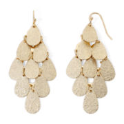 Decree® Gold-Tone Kite Earrings