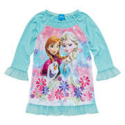 Frozen Long Sleeve Pajama Top - Toddler Girls 2t-4t
