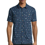 Levi's® Rear Short-Sleeve Woven Shirt