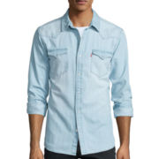 Levi's® Long-Sleeve Denim Woven Shirt