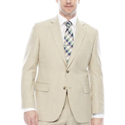 Stafford® Travel Sharkskin Suit Jacket - Classic Fit