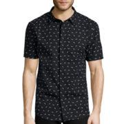 No Retreat Short-Sleeve Button-Front Shirt