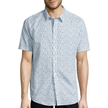 jcpenney.com | No Retreat Short-Sleeve Button-Front Shirt