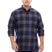 Arrow® Long-Sleeve Hunting Plaid Shirt - Big & Tall
