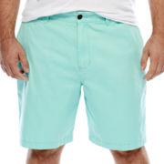 The Foundry Supply Co.™ Solid Flat-Front Shorts - Big & Tall