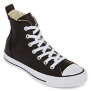 Converse® Chuck Taylor All Star Womens Chelsee High-Top Leather Sneakers