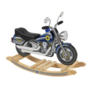 KidKraft® Rocking Police Motorcycle