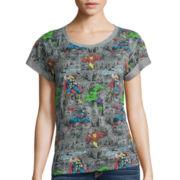 Short-Sleeve Marvel Graphic T-Shirt