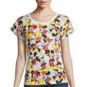 Short-Sleeve Mickey Graphic T-Shirt