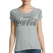 Short-Sleeve Coca-Cola Graphic T-Shirt