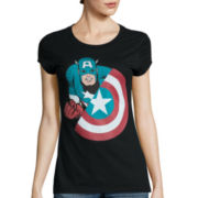 Short-Sleeve Marvel Avengers Graphic T-Shirt