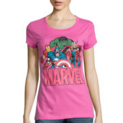 Short-Sleeve Marvel Graphic T-Shirt