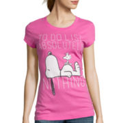 Short-Sleeve Peanuts Graphic T-Shirt