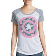 Short-Sleeve Marvel Raglan Graphic T-Shirt