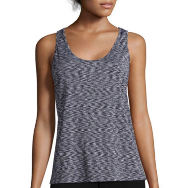 jcpenney.com | Inspired Hearts Space Dye X-Back Tank Top - Juniors