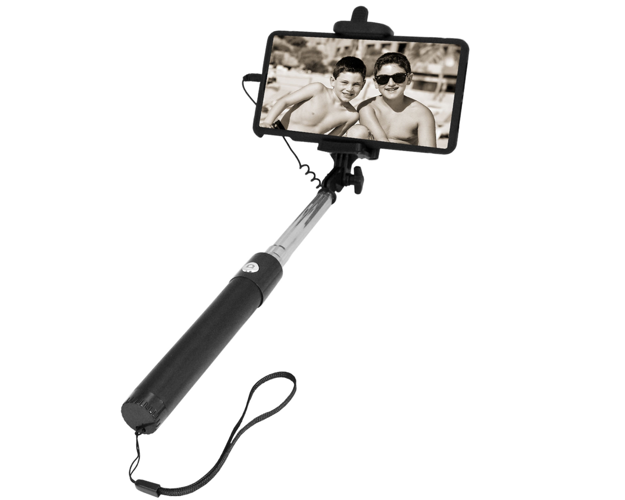 Natico Selfie Stick + Shutter Button