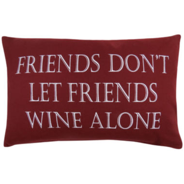 jcpenney.com | Park B. Smith® Friends Don't Let Friends Decorative Pillow