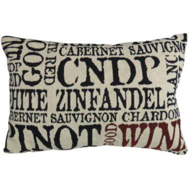 jcpenney.com | Park B. Smith® Good Wine Decorative Pillow