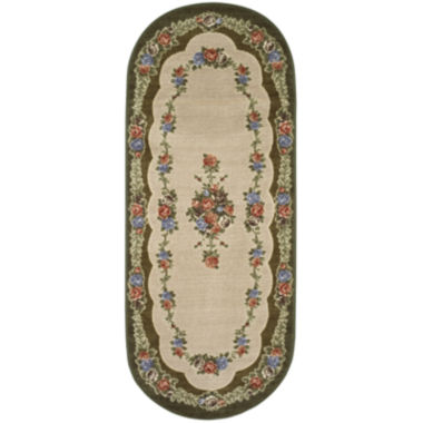 jcpenney.com | Rosewood Washable Oval Runner Rug