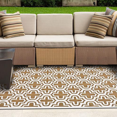 Feizy Rugs® Laila Indoor/Outdoor Rectangular Rug