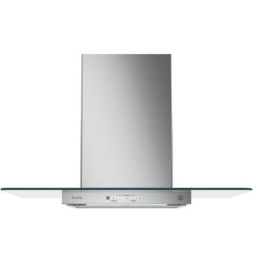 jcpenney.com | GE Profile™  Wall-Mount Chimney Range Hood With Glass Canopy