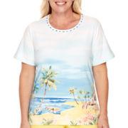 Alfred Dunner® Weekend Getaway Short-Sleeve Scenic T-Shirt - Plus