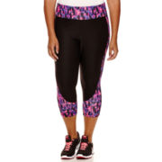 Xersion™ Motion Inset Capris - Plus
