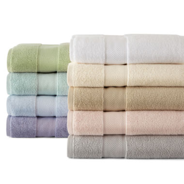 jcpenney.com | Liz Claiborne® Sculpted and MicroCotton® Bath Towel Collection