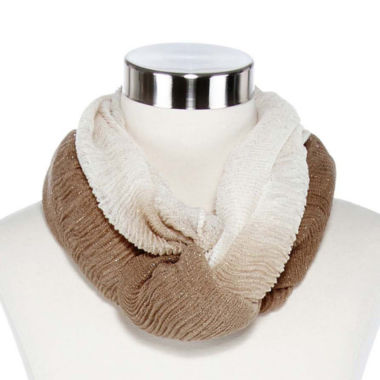 jcpenney.com | Ruched Ombré Infinity Scarf