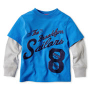 Arizona Layered Graphic Tee - Boys 12m-6y