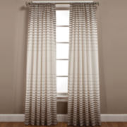 Side Step Rod-Pocket Curtain Panel