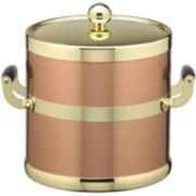 Kraftware 3-qt. Copper and Brass Ice Bucket