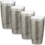 Kraftware Set of 4 Woven 22-oz. Glasses