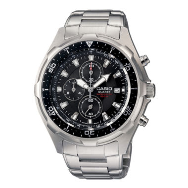 jcpenney.com | Casio® Mens Stainless Steel Chronograph Watch AMW330D-1AV