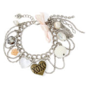Messages from the Heart® by Sandra Magsamen® XO Charm Bracelet