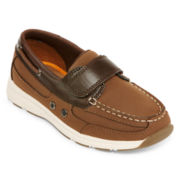 Okie Dokie® Bobby Boys Boat Shoes - Toddler