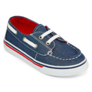 Okie Dokie® Nick Boys Boat Shoes - Toddler