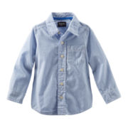 OshKosh B'gosh® Long-Sleeve Striped Oxford Shirt – Boys 4-7