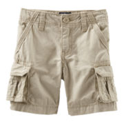 OshKosh B'gosh® Canvas Cargo Shorts – Boys 2t-5t