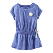 OshKosh B'gosh® Short-Sleeve Cinched-Waist Tunic – Girls 2t-5t