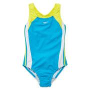 Speedo® 1-pc. Splice Swimsuit - Girls 7-16