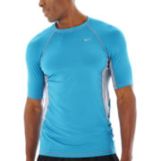 Nike® Short-Sleeve Hydro Stretch Colorblock Tee