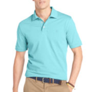 IZOD® Short-Sleeve Solid Jacquard Polo