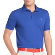 IZOD® Golf Short-Sleeve Textured Stripe Polo